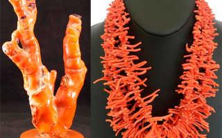 Изделия из кораллов