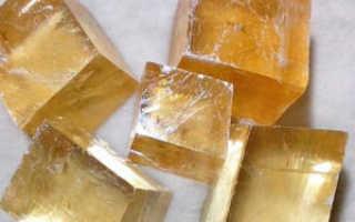 Кальцит – история, полезные свойства и описание камня