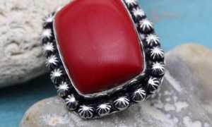 Кольцо с кораллом: какие бывают, как выбрать, правильный уход