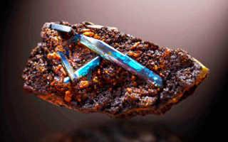 Минерал вивианит – история, полезные свойства и описание