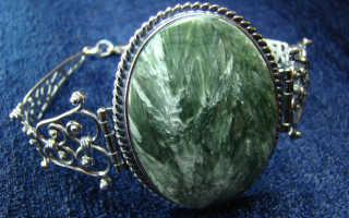Клинохлор (серафинит) – история, полезные свойства и описание камня