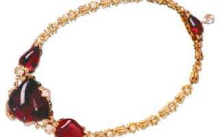 Знаменитые камни –  рубин Тимура: история, полезные свойства и описание камня