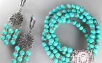 Полезные и красивые украшения из бирюзы