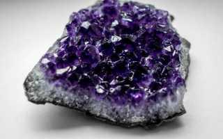 Природный камень-аметист – история, полезные свойства и описание камня