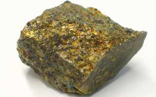 Халькопирит – история, полезные свойства и описание камня