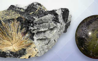 Эгирин – история, полезные свойства и описание камня