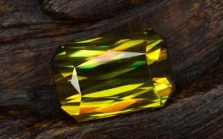Титанит или сфен – история, полезные свойства и описание камня