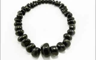 Гагат – история, полезные свойства и описание камня