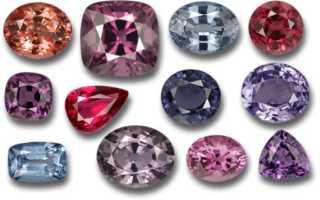 Лал шпинель: камень, фото, описание и добыча
