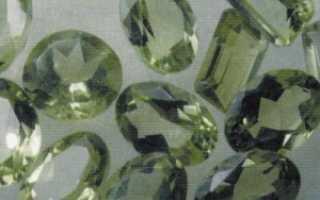 Хризолит: об истории и свойствах золотого камня