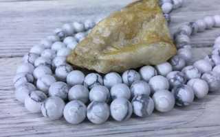 Говлит – история, полезные свойства и описание камня