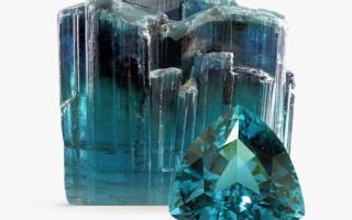 Индиголит или синий турмалин – история, полезные свойства и описание камня