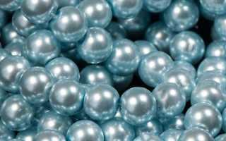 Голубые и синие жемчужины: особенности камня и его свойства