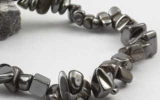 Гематитовый браслет: мужские и женские украшения
