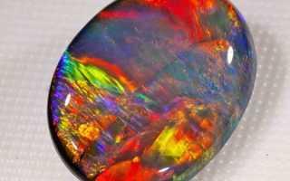 Австралийские опалы – история, полезные свойства и описание камня