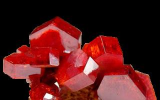 Ванадинит – история, полезные свойства и описание камня